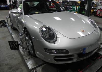 Porsche 4 Wheel Alignment at STR Service Centre, Norwich