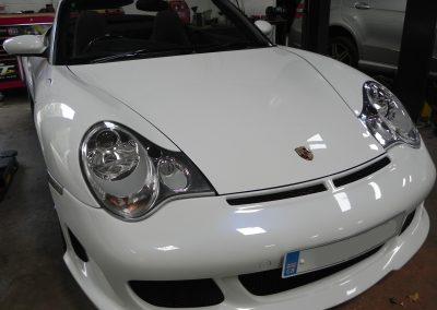 Porsche 996 Vehicle Inspection at STR Service Centre, Norwich